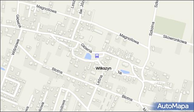 Przystanek Wilkszyn. MPKWroclaw - Wrocław (id 911925) na mapie Targeo