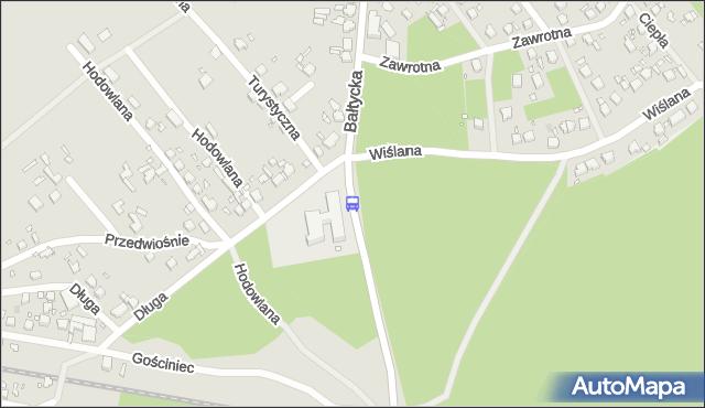 Przystanek Wiślana 11. ZDiTM Szczecin - Szczecin (id 73411) na mapie Targeo