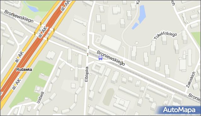 Przystanek Włościańska 03. ZTM Warszawa - Warszawa (id 604103) na mapie Targeo