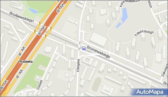 Przystanek Włościańska 04. ZTM Warszawa - Warszawa (id 604104) na mapie Targeo