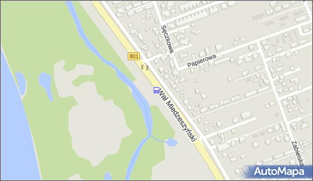 Przystanek Wojsławicka 01. ZTM Warszawa - Warszawa (id 220701) na mapie Targeo