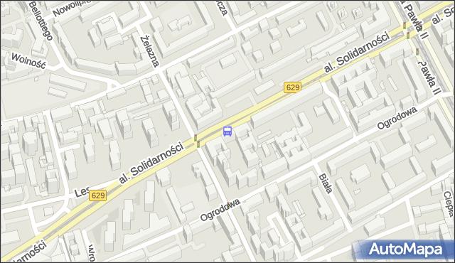 Przystanek Wola-Ratusz 01. ZTM Warszawa - Warszawa (id 500201) na mapie Targeo