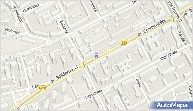Przystanek Wola-Ratusz 02. ZTM Warszawa - Warszawa (id 500202) na mapie Targeo