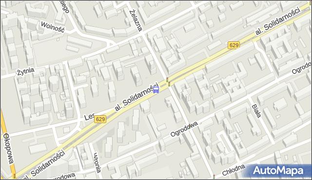 Przystanek Wola-Ratusz 03. ZTM Warszawa - Warszawa (id 500203) na mapie Targeo