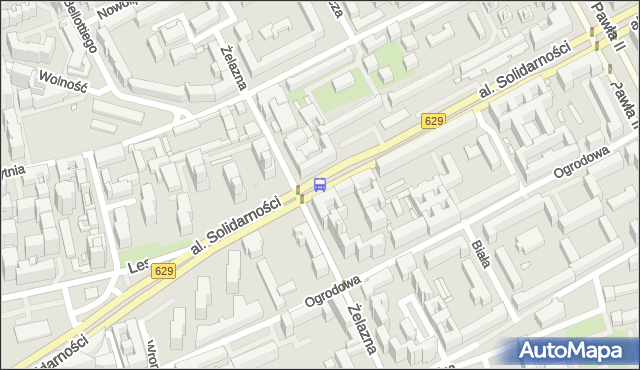 Przystanek Wola-Ratusz 04. ZTM Warszawa - Warszawa (id 500204) na mapie Targeo