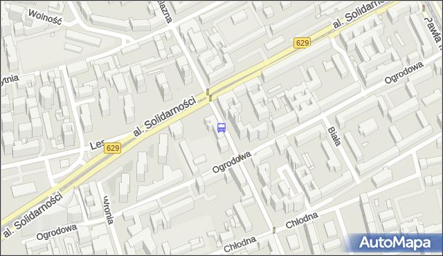 Przystanek Wola-Ratusz 05. ZTM Warszawa - Warszawa (id 500205) na mapie Targeo