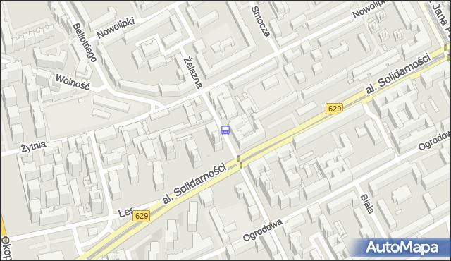 Przystanek Wola-Ratusz 06. ZTM Warszawa - Warszawa (id 500206) na mapie Targeo
