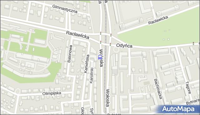 Przystanek Wołoska 01. ZTM Warszawa - Warszawa (id 323901) na mapie Targeo