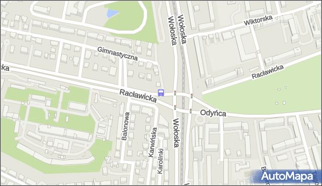 Przystanek Wołoska 06. ZTM Warszawa - Warszawa (id 323906) na mapie Targeo