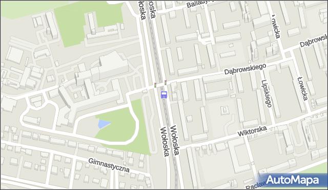 Przystanek Wołoska-Szpital 04. ZTM Warszawa - Warszawa (id 323804) na mapie Targeo