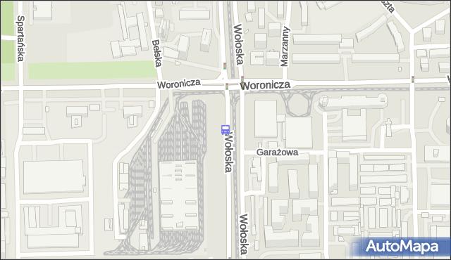 Przystanek Woronicza 01. ZTM Warszawa - Warszawa (id 324001) na mapie Targeo