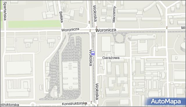 Przystanek Woronicza 03. ZTM Warszawa - Warszawa (id 324003) na mapie Targeo