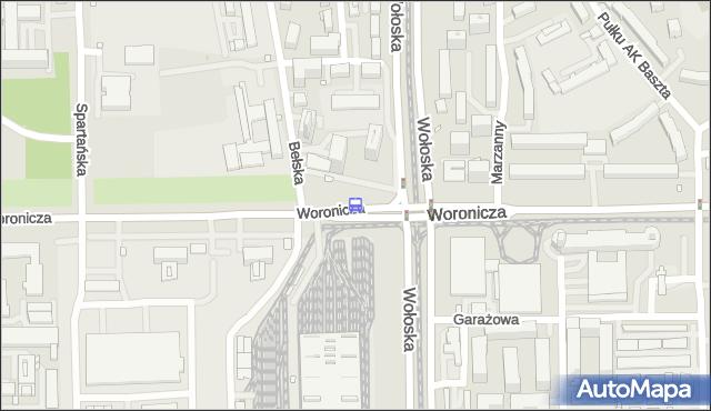 Przystanek Woronicza 06. ZTM Warszawa - Warszawa (id 324006) na mapie Targeo