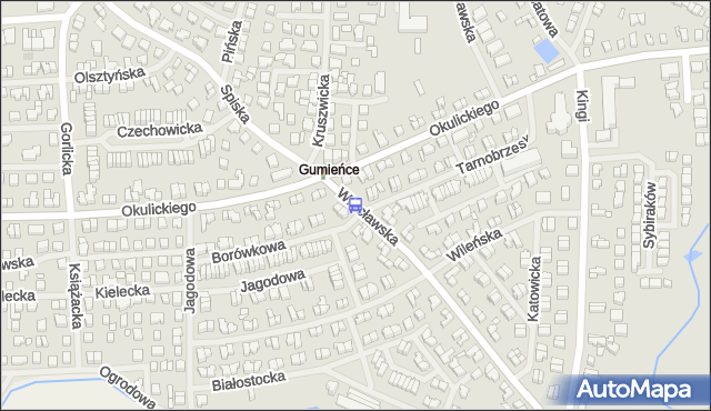 Przystanek Wrocławska 11. ZDiTM Szczecin - Szczecin (id 25711) na mapie Targeo