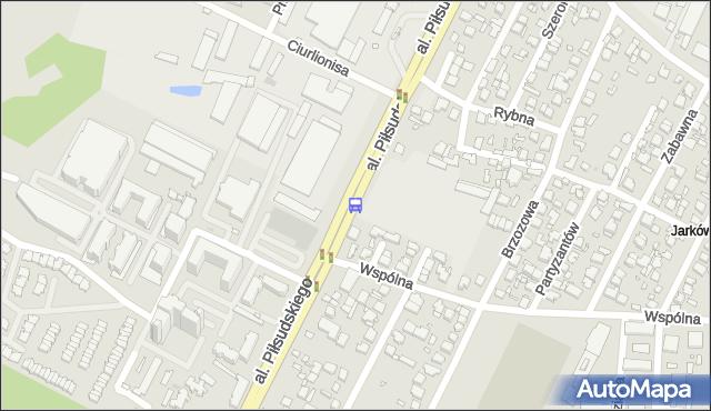Przystanek Wspólna 02. ZTM Warszawa - Warszawa (id 123902) na mapie Targeo