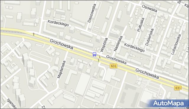 Przystanek Wspólna Droga 04. ZTM Warszawa - Warszawa (id 201004) na mapie Targeo