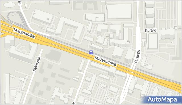 Przystanek Wynalazek 01. ZTM Warszawa - Warszawa (id 325101) na mapie Targeo