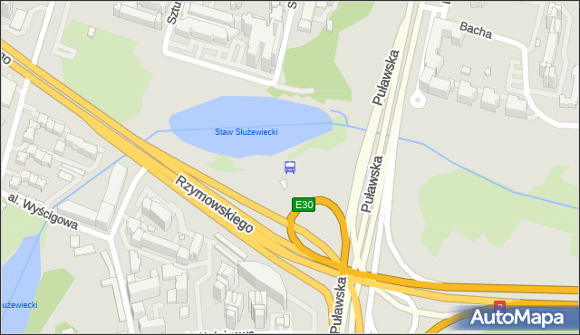 Przystanek Wyścigi 07. ZTM Warszawa - Warszawa (id 301207) na mapie Targeo