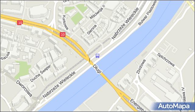 Przystanek Wyszyńskiego 22. ZDiTM Szczecin - Szczecin (id 10922) na mapie Targeo
