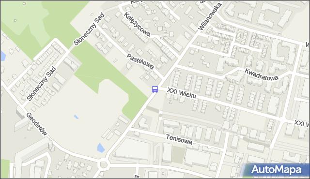 Przystanek XXI Wieku 02. ZTM Warszawa - Warszawa (id 334902) na mapie Targeo