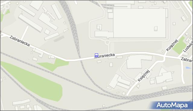 Przystanek Zabraniecka-Bocznica 01. ZTM Warszawa - Warszawa (id 103801) na mapie Targeo