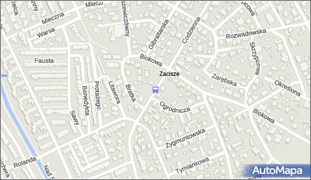 Przystanek Zacisze 02. ZTM Warszawa - Warszawa (id 106302) na mapie Targeo
