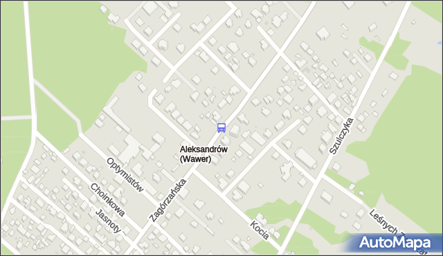 Przystanek Zagórzańska 01. ZTM Warszawa - Warszawa (id 237601) na mapie Targeo