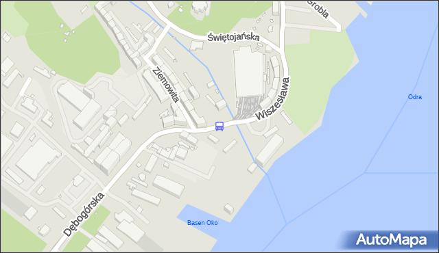 Przystanek Zajezdnia Golęcin 12. ZDiTM Szczecin - Szczecin (id 40212) na mapie Targeo