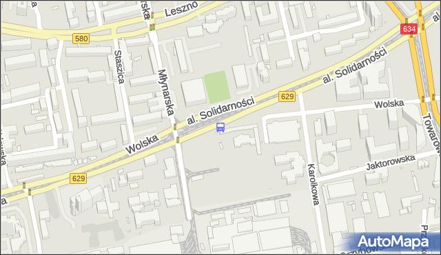 Przystanek Zajezdnia Wola 01. ZTM Warszawa - Warszawa (id 500401) na mapie Targeo