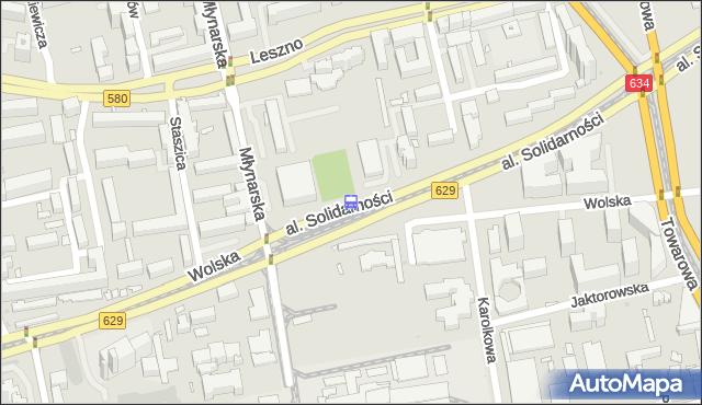 Przystanek Zajezdnia Wola 02. ZTM Warszawa - Warszawa (id 500402) na mapie Targeo