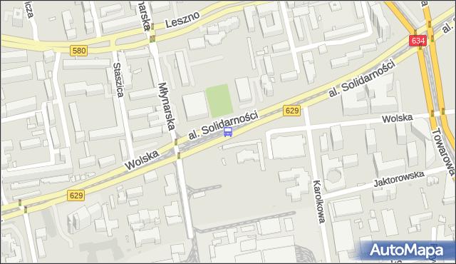 Przystanek Zajezdnia Wola 03. ZTM Warszawa - Warszawa (id 500403) na mapie Targeo