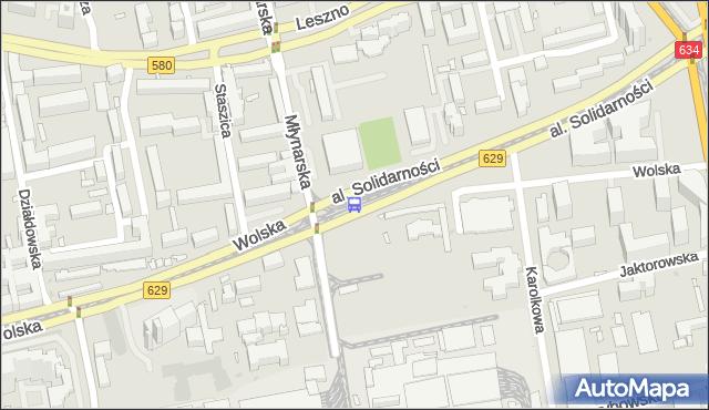 Przystanek Zajezdnia Wola 04. ZTM Warszawa - Warszawa (id 500404) na mapie Targeo
