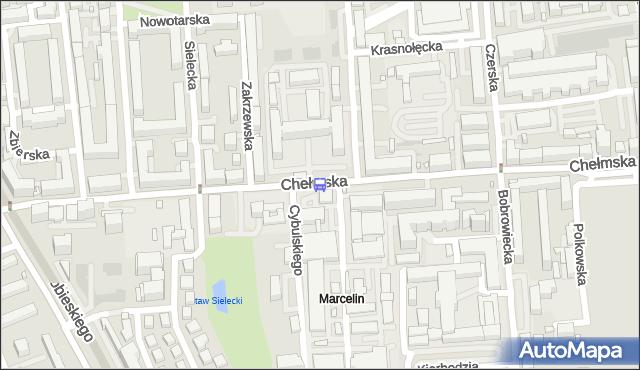 Przystanek Zakrzewska 01. ZTM Warszawa - Warszawa (id 308601) na mapie Targeo