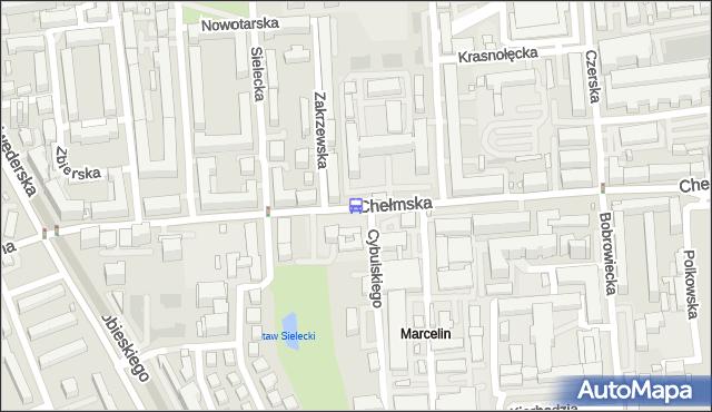 Przystanek Zakrzewska 02. ZTM Warszawa - Warszawa (id 308602) na mapie Targeo