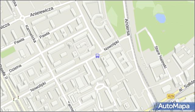 Przystanek Zamenhofa 01. ZTM Warszawa - Warszawa (id 702401) na mapie Targeo