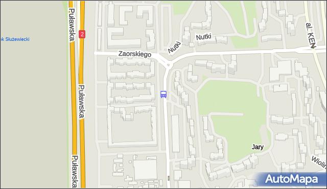 Przystanek Zaolziańska 01. ZTM Warszawa - Warszawa (id 319901) na mapie Targeo