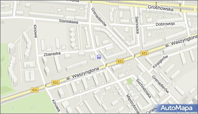 Przystanek Zbaraska 01. ZTM Warszawa - Warszawa (id 212701) na mapie Targeo