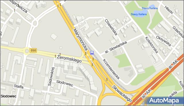 Przystanek Żeromskiego 05. ZTM Warszawa - Warszawa (id 600605) na mapie Targeo