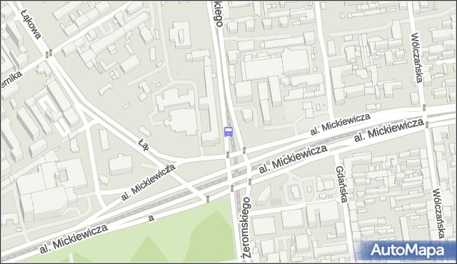 Przystanek Żeromskiego - Mickiewicza. MPKLodz - Łódź (id 1519) na mapie Targeo