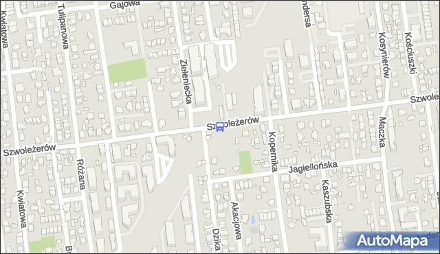 Przystanek Zieleniecka 02. ZTM Warszawa - Warszawa (id 133502) na mapie Targeo