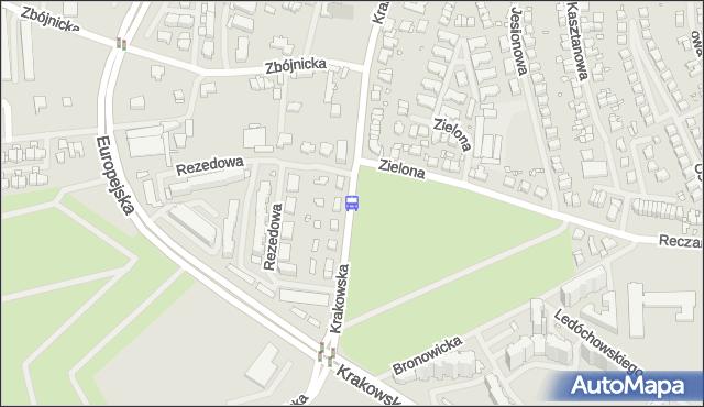 Przystanek Zielona 12. ZDiTM Szczecin - Szczecin (id 26012) na mapie Targeo