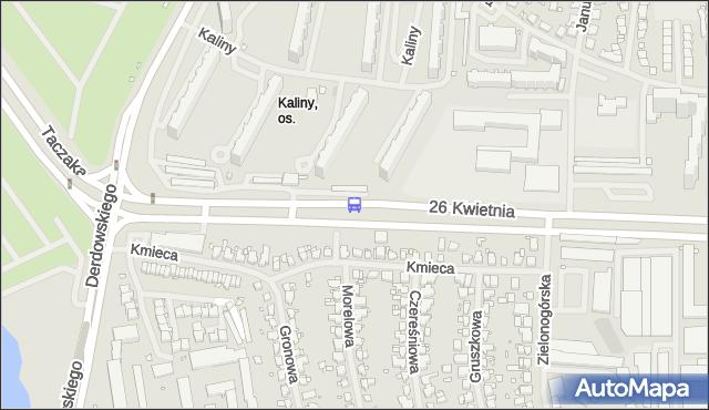 Przystanek Zielonogórska 11. ZDiTM Szczecin - Szczecin (id 35311) na mapie Targeo