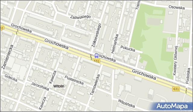 Przystanek Żółkiewskiego 03. ZTM Warszawa - Warszawa (id 201203) na mapie Targeo