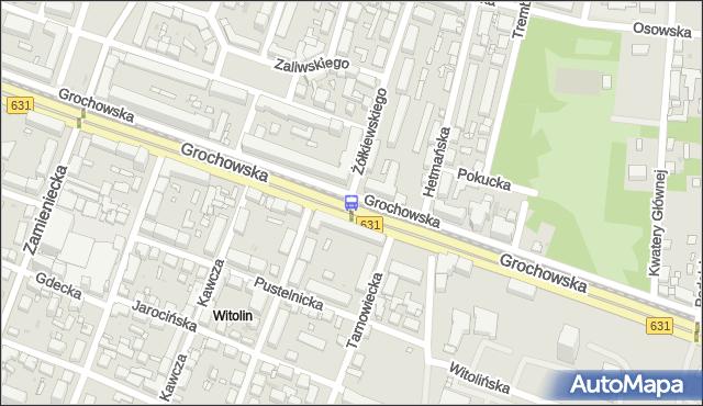 Przystanek Żółkiewskiego 04. ZTM Warszawa - Warszawa (id 201204) na mapie Targeo