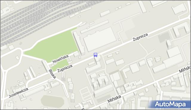 Przystanek Żupnicza 01. ZTM Warszawa - Warszawa (id 211901) na mapie Targeo