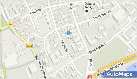 Wynajem Nieruchomości, Legionów 14a, Toruń 87-100 - Administracja mieszkaniowa, NIP: 8790253218