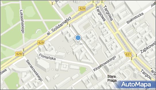 Zarząd Nieruchomości Komunalnych W-wa, Jagiellońska 23, Warszawa - Administracja mieszkaniowa, numer telefonu