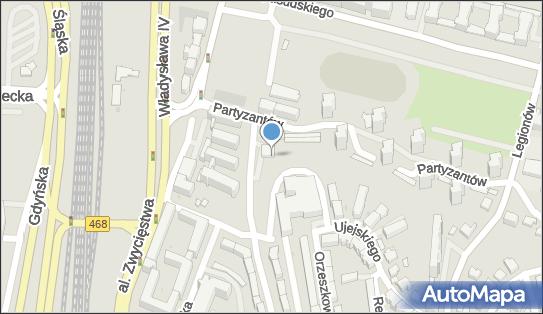 Franciszkańska, Ul. Partyzantów 35, Gdynia 81-423, godziny otwarcia, numer telefonu