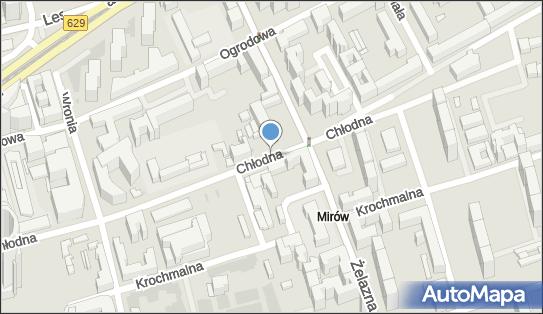 Ulica Chłodna, ul. Chłodna, Warszawa - Atrakcja turystyczna