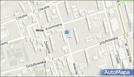 Ulica Waliców, ul. Waliców, Warszawa - Atrakcja turystyczna